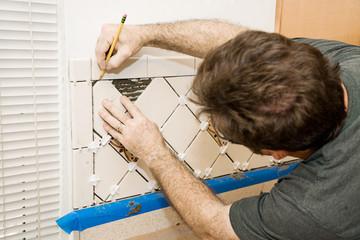 Marking Ceramic Tile