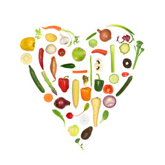 Healthy Vegetable Heart