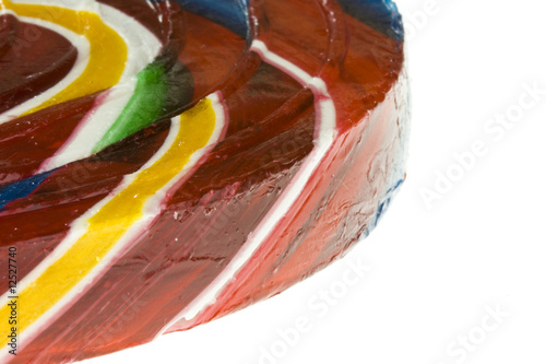 Lollipop close up