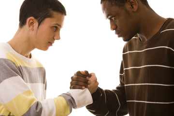 multiracial confrontation