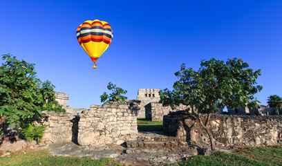 Tulum the one of most famous landmark in the Maya World