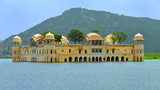 Jal Mahal Water Palace in Jaipur, India.