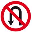 PlacaTrânsito - Proibido Retornar a esquerda