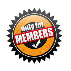only for members