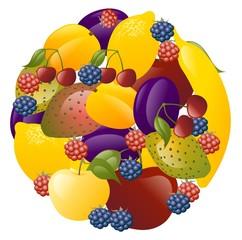 sfera frutta