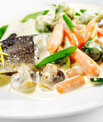 Trout Fillet with Vegetable
