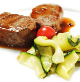 Veal Medallions with Zucchini poster