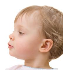 Child close-up portrait