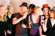 Party, feiern, trinken