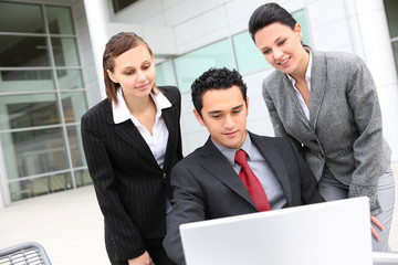 Young Diverse Business Team