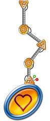 Braço robô 4 - coração