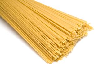 uncooked spaghetti noodles