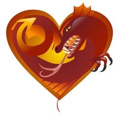 cuore di drago