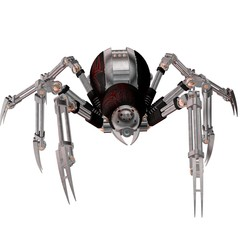Robot Spider Android Virus Assassin
