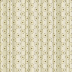 Silvery striped floral  background with silvery flowers