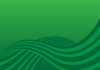 Retro Hintergrund Grün