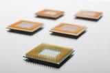 CPU close up poster