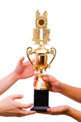 Trophy bestowed to the winner