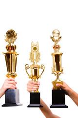 Three winners