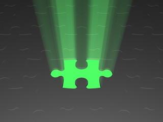 puzzle grünes licht