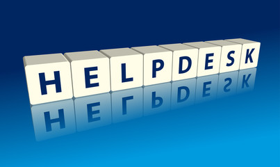 """""""Helpdesk"""" (blocks with reflection)"""