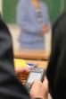 Téléphone portable à l'école