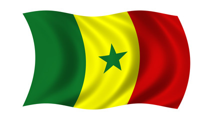senegal fahne flag