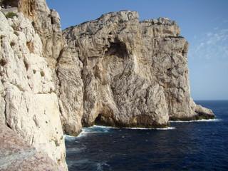 wybrzeże na Sardynii