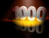 1000 anniversary celebration poster