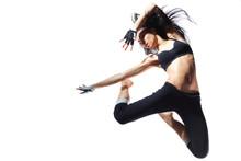moderne stijl danser
