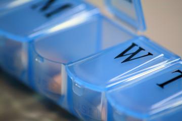Closeup of Medication Dispenser