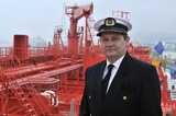 Captain of the ocean ship poster
