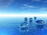 Fototapety Galets de verre