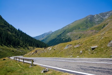 View from Transfagarasan