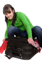 packing woman