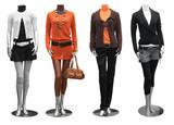 fashion dress on mannequin