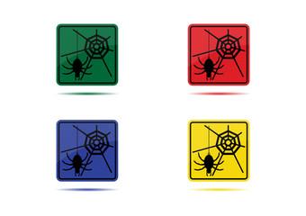 Web/Internet Icon (4 Color Variations)