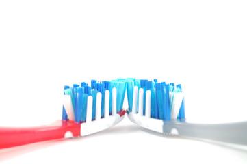 Cepillos dentales unidos