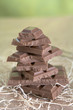 Stack of Chocolate Candies