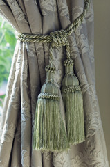 Curtain with Tassels