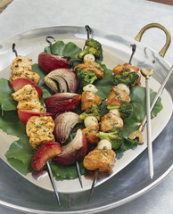 Chicken Shish Kebab and Chicken Skewers