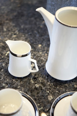 Coffee Service on Countertop