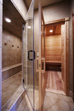 Doorways for Shower and Sauna