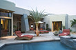 Pool and Patio by Contemporary Home