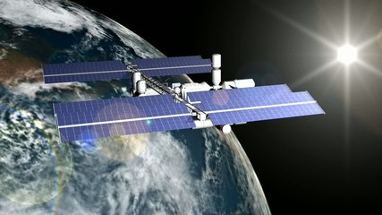 Station Orbitale ISS Animation HD