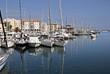 Port de Fréjus en France