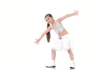 Dancing baby girl