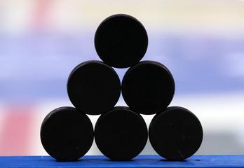 Puk, Eishockey,