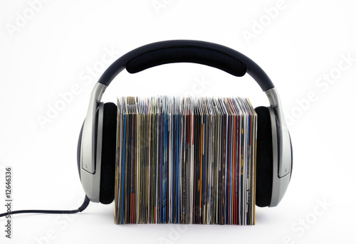 Listening to music concept - 12646336