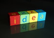 """Idea"" (wooden blocks)"